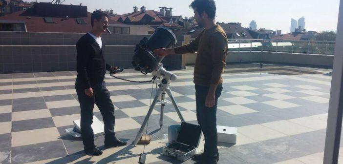 Ürotam'da Güneş Gözlem Etkinlikleri