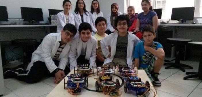 Üsküdar Çocuk Akademileri Robot Eğitimi