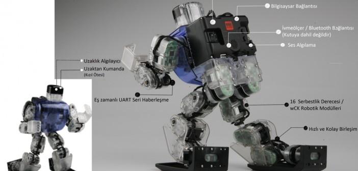 ROBOBUİLDER CREATOR 5720T (İNSANSI ROBOT)