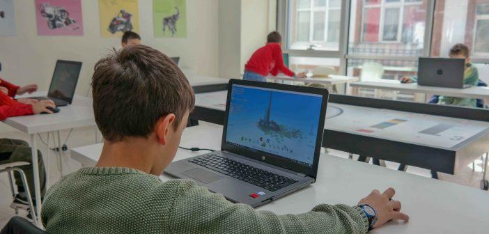 Üsküdarlı Çocuklar Kendi Oyunlarını Programlayacak.
